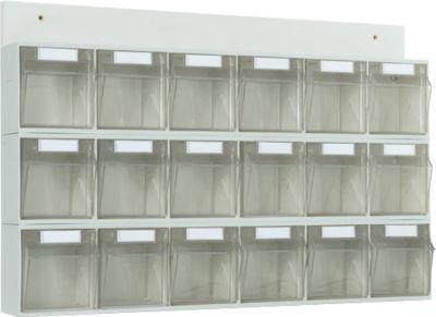 MultiStore Wand-Set mit 18 Behälter