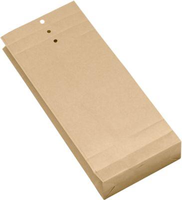 Musterbeutel, braun, 345x140x50 mm
