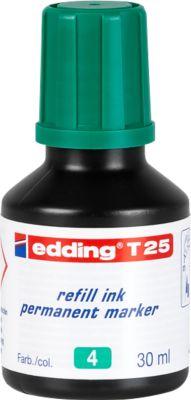 Nachfüll-Tusche edding T25 (Tropfdosierer), grün