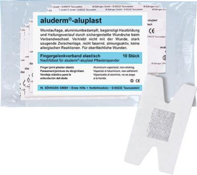 Nachfüllset Typ 5 für Pflasterspender aluderm®-aluplast, Fingergelenkverband, 10 Stück