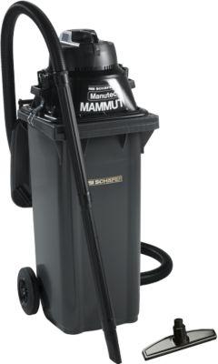 Nass-/Trockensauger Manutec®-Mammut, 1100 W, inkl. Großmülltonne, 120 l, + Gratis-Düse