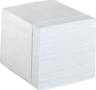 Navulling notitieblaadjes, 85 x 85 mm, wit