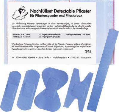 Navulset voor pleisterdispenser Detectable