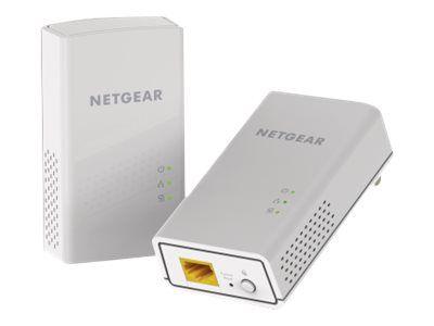 NETGEAR Powerline PL1000 - Bridge - an Wandsteckdose anschließbar