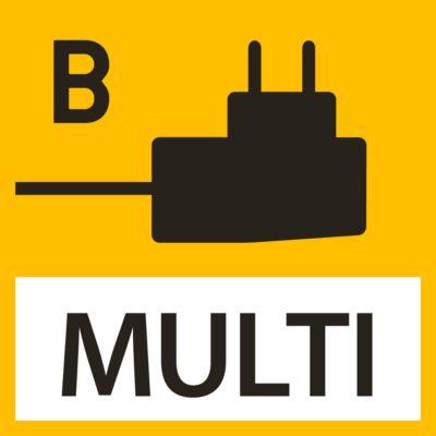 Netzadapter für KERN-Waagen, extern mit Universaleingang, optionale Eingangs-Adapter für EU, UK, US