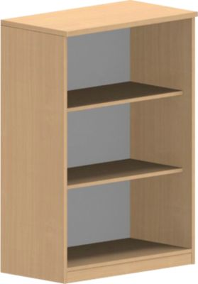 NEVADA open kast, 3 OH, b 800 x d 420 x h 1160 mm, beukendecor