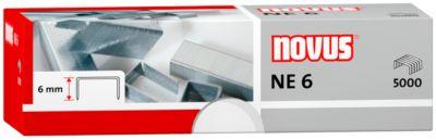 Nietjes NE 6 voor elektrische nietmachine, 1 pak van 5000 nietjes