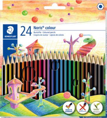 Noris Farbstifte Color, 24 Stück
