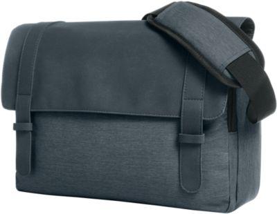 Notebook-Tasche URBAN, gepolstert, Kunstleder/Polyester, WAB 200 x 100 mm, blau