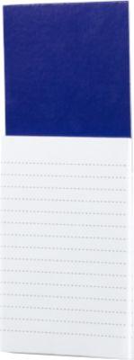 Notizblock Sylox, magnethaftend, blau