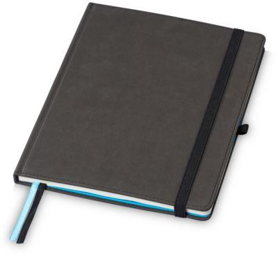 Notizbuch Marksman Conference, B5, 88 S. liniert/perforiert, Werbedruck 80 x 80 mm, schwarz