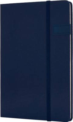 Notizbuch, mit 4GB USB-Speicher, A5, dunkelbl