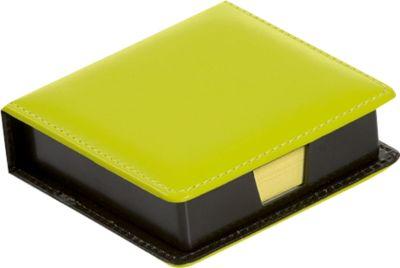 Notizzettelboxspender, mit 100 Haftnotizen in 75 x 75 mm, pistazie