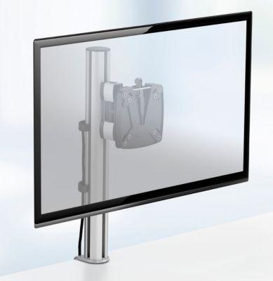 Novus Monitorsäule TSS Single 105, Klemme 14 bis 40 mm, H 445 mm, Tragkraft 15 kg