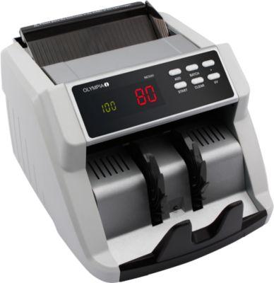 OLYMPIA Bankbiljetcontrole en -telling NC-520 van de OLYMPIA-bankbiljetten.