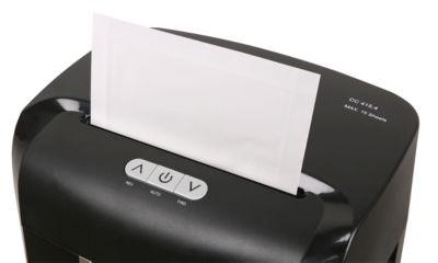 Olympia Ölpapier, für alle Arten von Aktenvernichtern, Format DIN A5, 12 Blätter