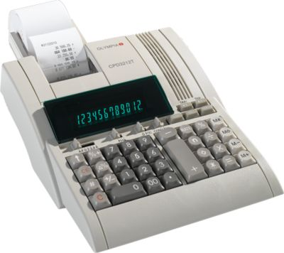 Olympia tafelrekenmachine CPD-3212T