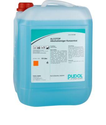 Onderhoudsreiniger PUDOL Alcotop, 10 liter jerrycan