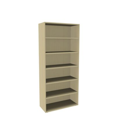 Open kast, 1-delig, b 1000 mm, 6 OH, ahorndecor