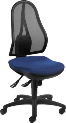OPEN POINT SY bureaustoel, zonder armleuningen, blauw