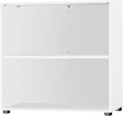 Opstartplank, B 800 x D 420 x H 726 mm, 2 OH & 1 plank, wit