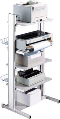 Opsteekbaar opzetplateau voor printertafel