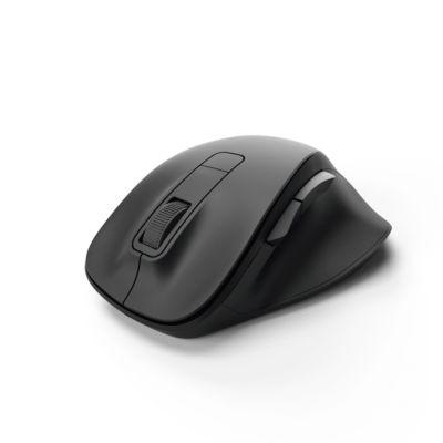 Optische draadloze muis Hama MW-500, draadloos, BlueWave-sensor, 6 knoppen incl. scrollwieltje, zwart