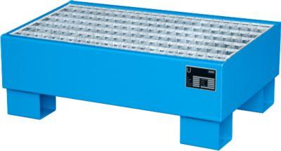 Opvangbakken, Type AW60-1/M, blauw RAL5010