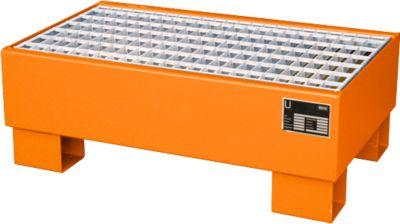 Opvangbakken, Type AW60-1/M, oranje RAL2000