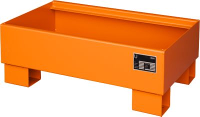 Opvangbakken, Type AW60-1, oranje RAL2000