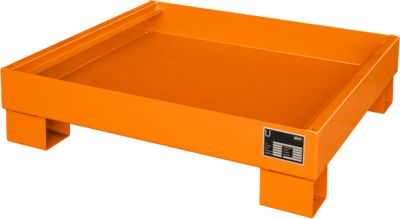 Opvangbakken, Type AW60-2, oranje RAL2000