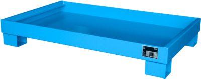 Opvangbakken, Type AW60-3, blauw RAL5012