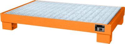 Opvangbakken, Type AW60-3/M, oranje RAL2000