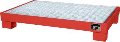 Opvangbakken, Type AW60-3/M, rood RAL3000