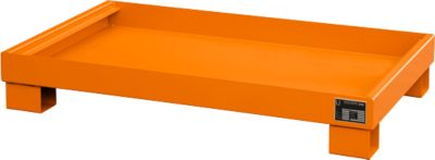 Opvangbakken, Type AW60-3, oranje RAL2000