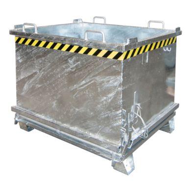 Opvouwbare bodemcontainer SB 1000, gegalvaniseerd