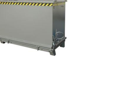 Opvouwbare bodemcontainer SB 2000, grijs