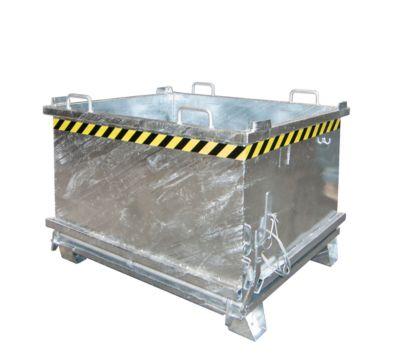 Opvouwbare bodemcontainer SB 750, gegalvaniseerd