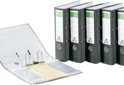 Ordner Grüner Balken, DIN A4, Rückenbreite 80 mm