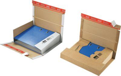 Ordner-Versandverpackung CP055, weiß, 20 Stück