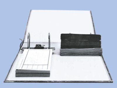 Ordnerbanderolen, Papier, universal, 250 Stück, weiß