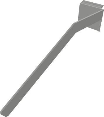Ordnerstütze SOLUS PLAY, f.  Container m. Auszug SOLUS PLAY, aus Stahl