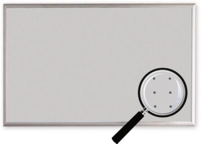 Organisatiebord, voor 3 x 6 DIN A4 borden, b 1345 x h 990 mm, voor staandermontage