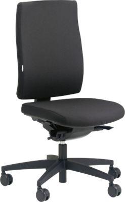 Original Steifensand Bürostuhl CETO CT2350, Synchronmechanik, ohne Armlehnen, Sitzzeit 8+ Stunden, schwarz