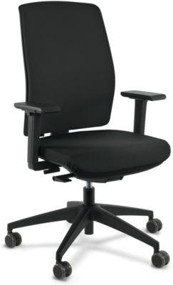 ORIGINAL STEIFENSAND Bürostuhl Chair in the Box, Synchronmechanik, mit Armlehnen, Netzrücken, Komfort-Flachsitz, bis 110 kg