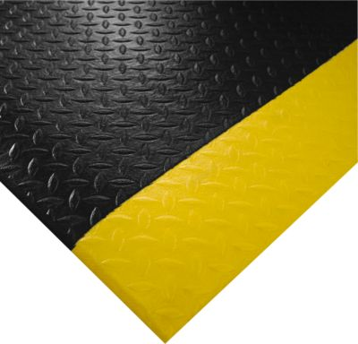 Orthomat® Arbeitsplatzmatte Diamond, Safety, lfm. x B 1200 mm