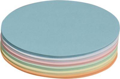 Ovale presentatiekaarten, 110 x 190 mm, div. kleuren, 250 stuks