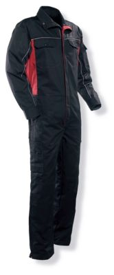 Overall schwarz/rot C48