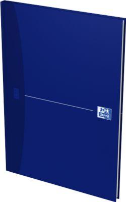 Oxford Office-Buch, gebunden, DIN A4, 96 Seiten kariert, 5er Pack, blau