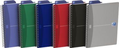 Oxford Office-Spiralbuch, DIN A5, liniert, 5er Pack